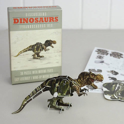 Build Your Own Wind Up T-Rex