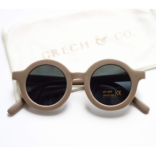 Kids Sustainable Sunglasses by Grech & Co - Stone