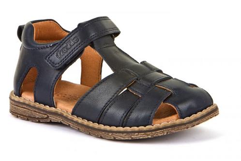 Froddo Leather Fisherman Sandals - Navy
