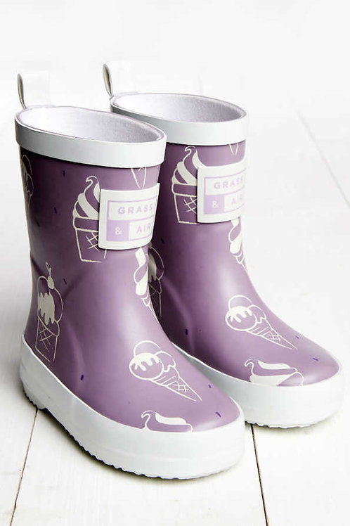 Ultra Violet Colour Revealing Wellies by Grass & Air