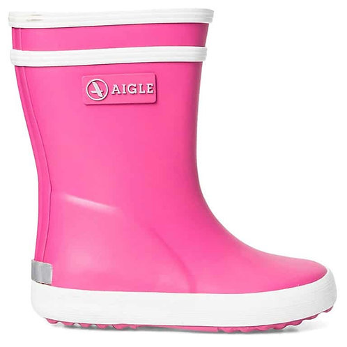 Aigle Baby Flac Wellies New Rose pink