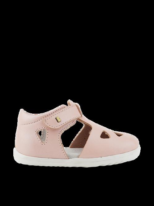 Bobux SU Zap First Walker Shoes Seashell Shimmer kids sandals