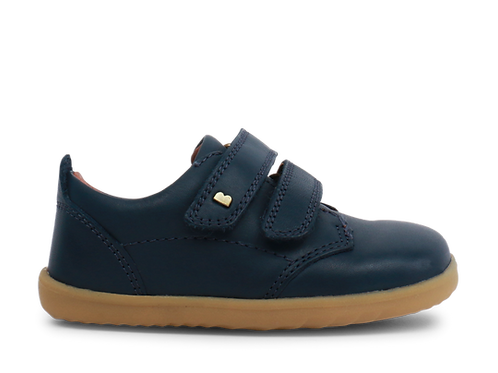 Bobux Step Up 'Port' First Walker Shoe - Navy