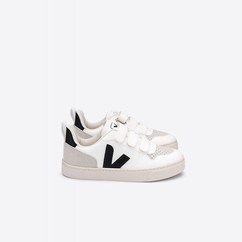 Veja Kids V10 CWL White Black