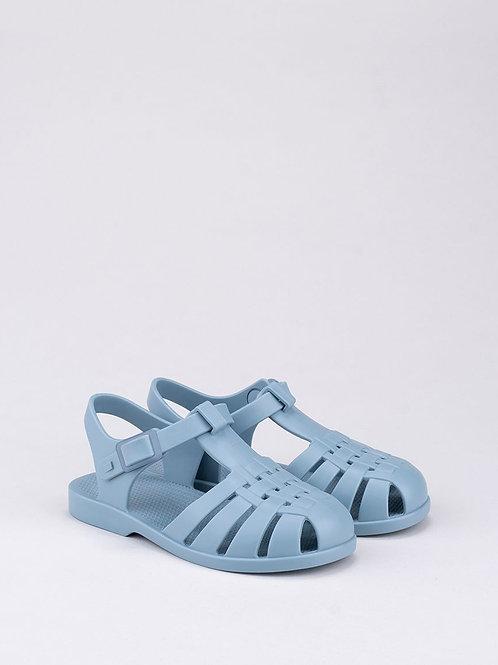 Igor Classica Snap Fastening Jelly Shoe blue azul liewood