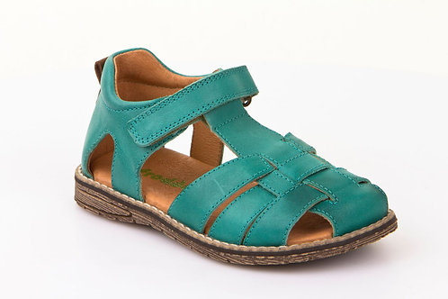 Froddo Green Leather Closed Sandals