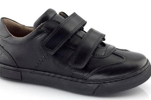Froddo Boys Black Velcro School Shoes
