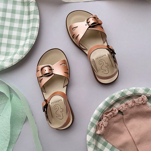 Samphire Womens Marella Splash Proof Sandals - Rose Gold