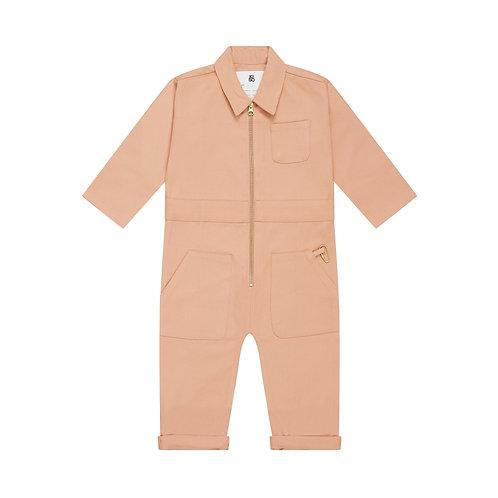 Boiler Suit in Clay Kiso Apparel pink rose jumpsuit
