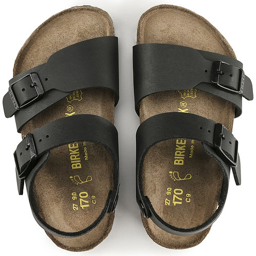Birkenstock New York Kids Black sandals shoes