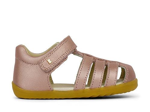 Bobux SU Jump First Walker Sandals - Rose Gold
