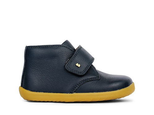Bobux Step Up Desert Boot Navy shoes boots leather