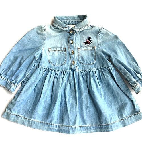 Vintage Original Osh Kosh Shirt Dress - 6 Months