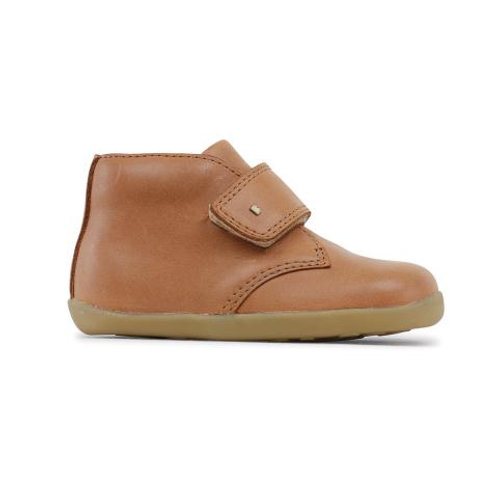 Bobux Step Up Desert Boot Caramel tan brown boots shoes