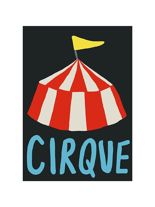 'Cirque' A4 Wall Print by Wolfnoodle
