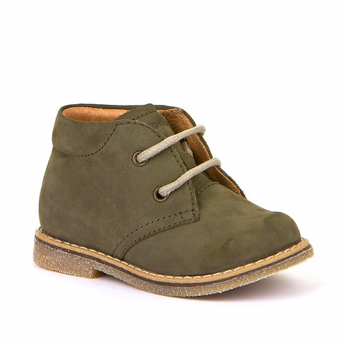 Froddo Toddler Lace Up Boots - Olive