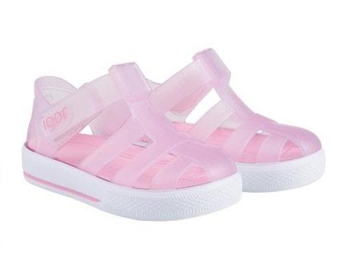 Igor Star Jelly Sandals Rosa pink