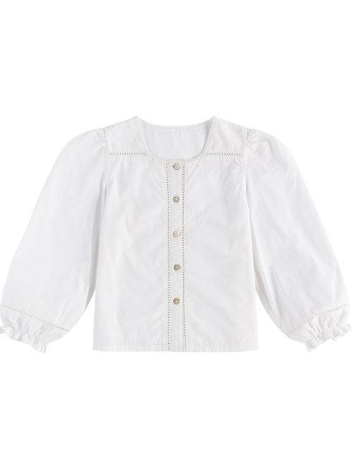 Connie Blouse Off White - Little Cotton Clothes