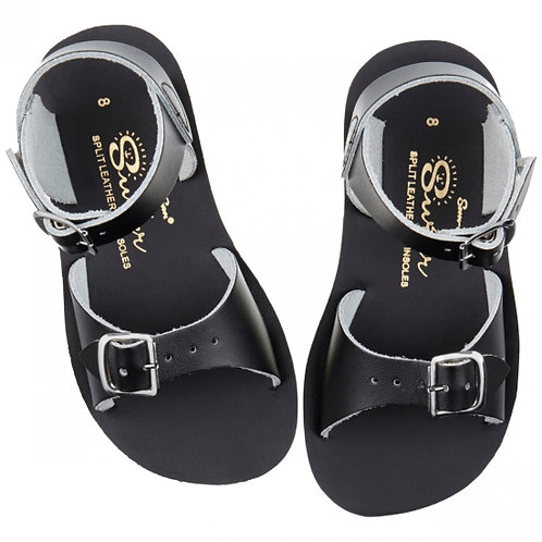 salt water surfer kids sandals black summer shoes boys