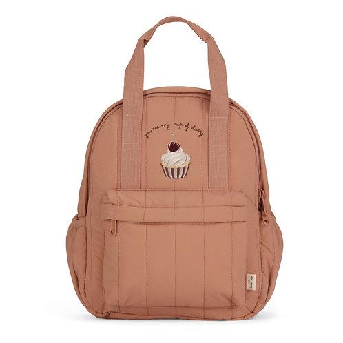 Konges Slojd Loma Kids Backpack Mini Cherry Cup (Brush) bag