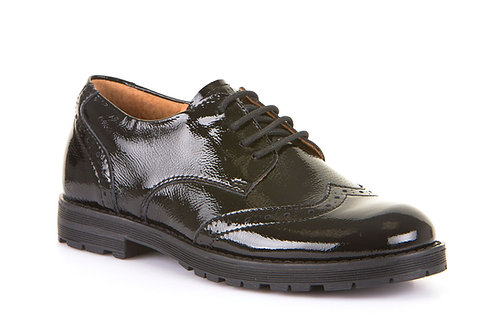 Black Patent Leather Brogue Froddo shoes
