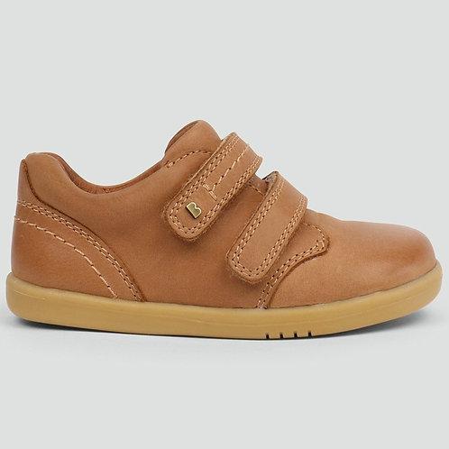 Bobux IWalk Port Shoe Caramel tan leather