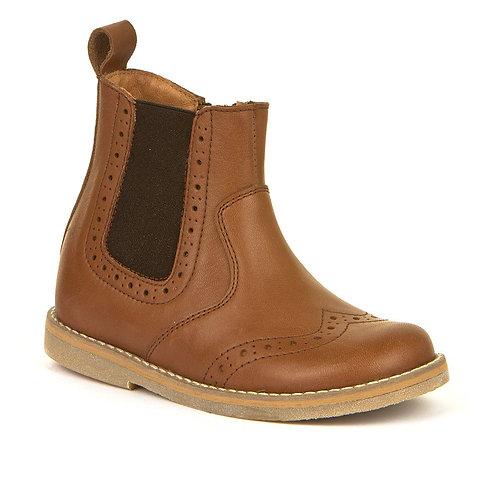 Froddo Chelsea Boots Cognac tan boots brown