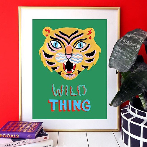 'Wild Thing' A4 Print - Eleanor Bowmer
