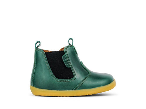 Bobux Step Up Jodphur Forest green boots shoes