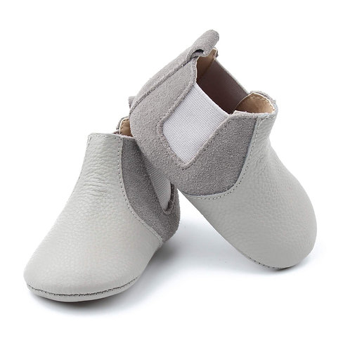 Soft Sole Cloudy Skies Baby Chelsea Sass & Me shoes
