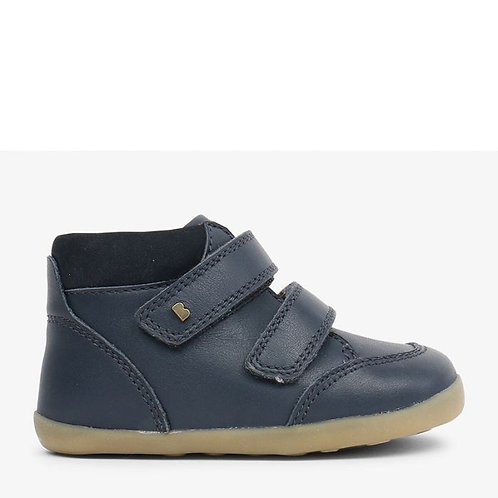 Bobux Step Up Timber First Walker Boots - Navy
