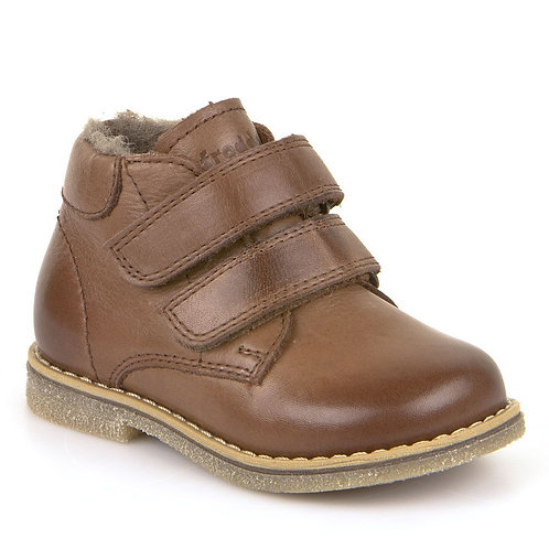Froddo Wool Lined Waterproof Ankle Boots - Brown