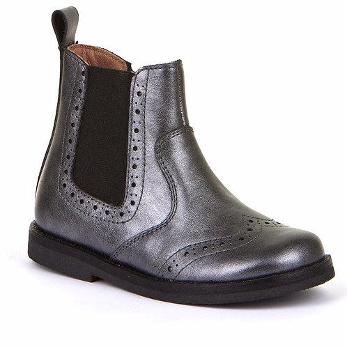 Froddo Classic Chelsea Boots - Silver