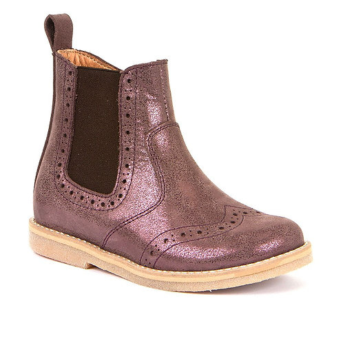 Froddo Chelsea Boots Pink Shimmer shoes