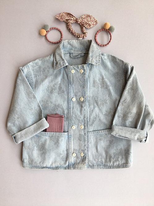 Vintage Denim Chore Jacket - Age 3