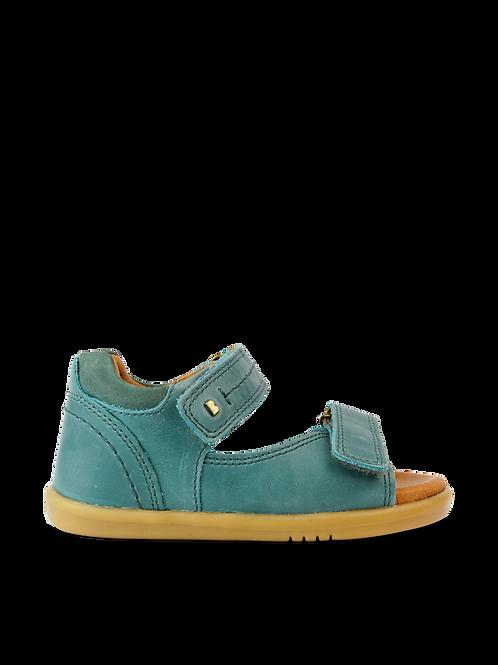 Bobux IWalk Driftwood Toddler Sandals Slate blue boys saltwater shoes