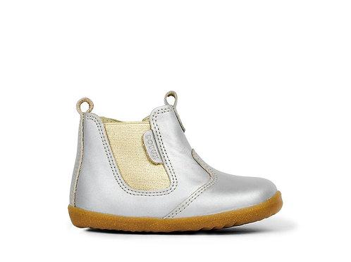 Bobux Step Up Jodphur - Silver