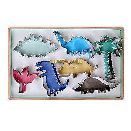 Meri Meri Dinosaur Cookie Cutters (7 Pieces)