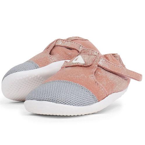 Bobux Step Up Xplorer Origin Pink Sparkle shoes