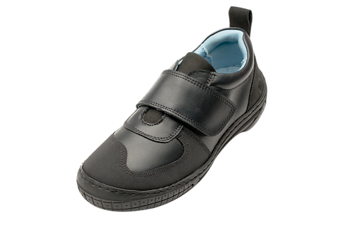 Skobi Scoop Splash School Shoes black