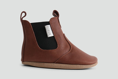 Bobux Soft Sole Pre-walker Boot Toffee brown tan