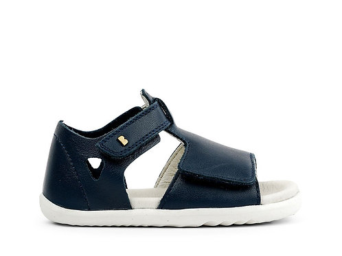 Bobux SU Mirror First Walker Sandals navy shoes