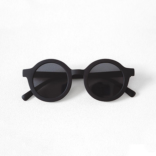 Adults Bay Sustainable Sunnies by Mrs Ertha Black round sunglasses