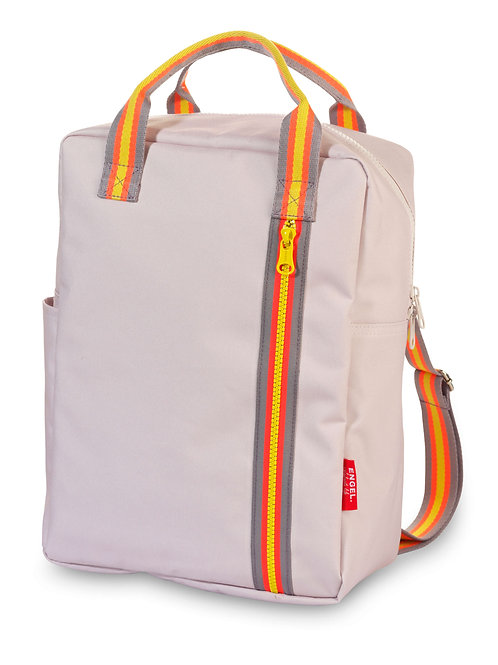 Engel Large Zipper Backpack - Pale Pink