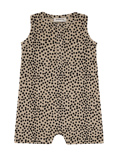 Another Fox Dot Terry Towelling Kids Shortie