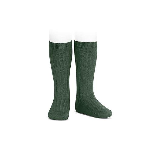 Condor Ribbed Knee High Socks - Amazonia