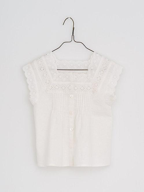 Clementine Vintage Lace Blouse - Little Cotton Clothes