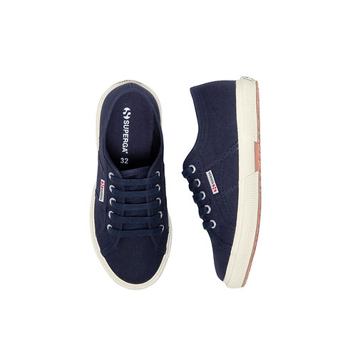 Superga Teen/Women JCOT Classic Navy shoes trainers