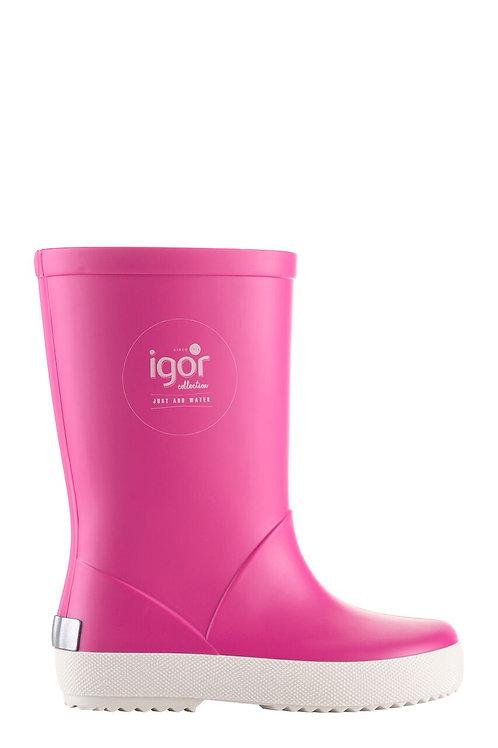 Igor Splash Welly Boots Fucshia Pink