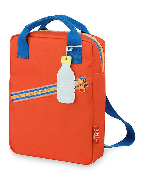Engel Small Zipper Backpack - Orange